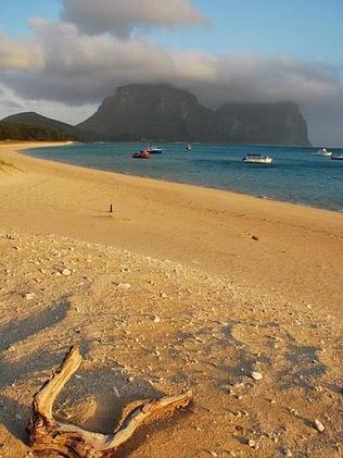 Now THIS is a beach. Lord Howe Island. Picture: Anthony the Travel Tart