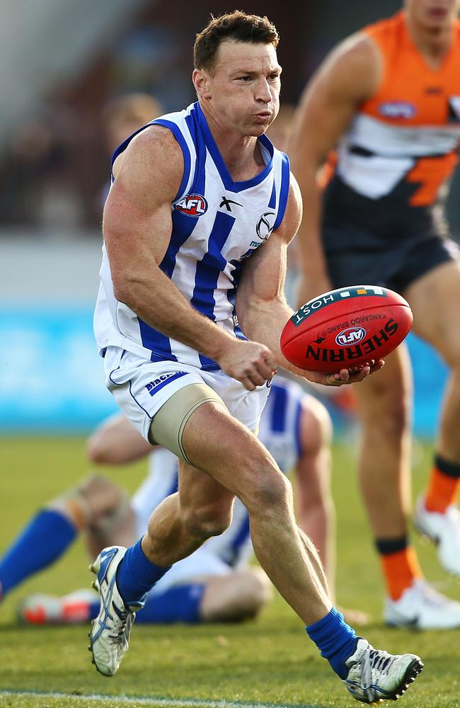 Harvey finished with 28 disposals and two goals in the demolition.
