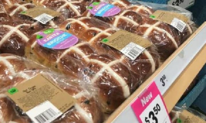 It's perfectly fine to sell hot cross buns in January