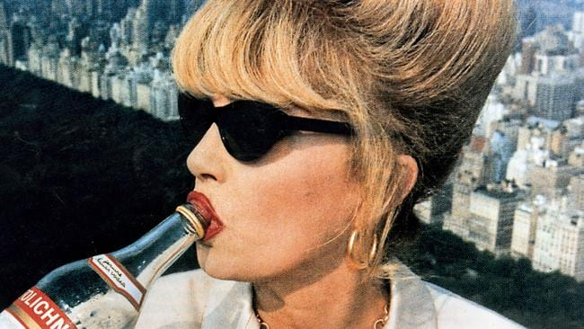 Joanna Lumley as Patsy in Absolutely Fabulous. Not me.