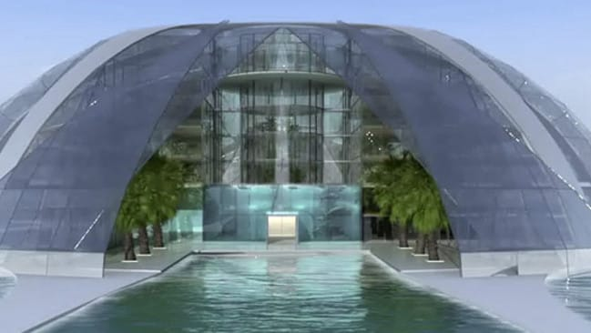 "Underwater World Resort AG plans to build a number of underwater hotels worldwide, with the first slated for Sanya, Hainan, in southern China. Picture:  <a href=""http://underwaterworldresort.com/index.php?lang=en&id=vision"" target=""_blank"">UnderwaterWorld Resort</a>"