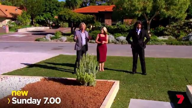 South australian couple kate whiting and james harry Channel 7 home and garden
