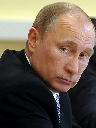 Lack of action... Russia's President Vladimir Putin has been accused of failing to stop p