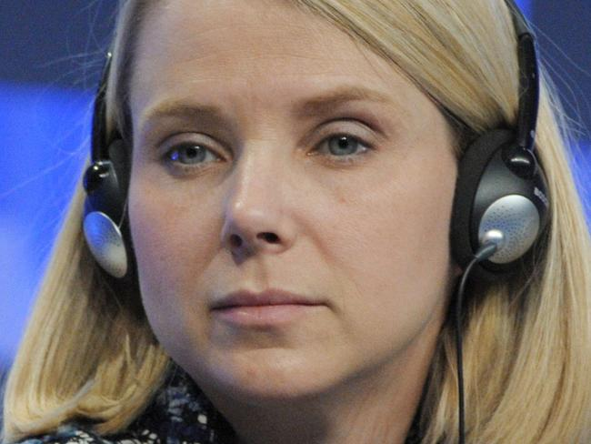 Yahoo boss finally faces the music