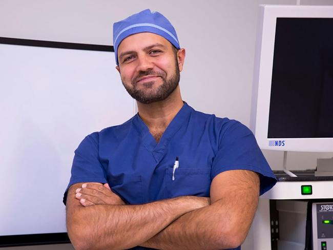 Dr. Amir Marashi is an Iranian surgeon who specialises in vaginal cosmetic surgery.