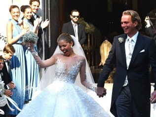 What a bride! Photo: Splash News Australia