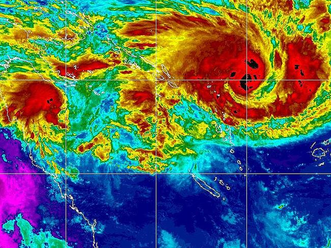 Cyclone Nathan is expected to grow from a category one to three today.