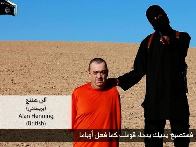 Threat ... British man Alan Henning is next on the Islamic State execution list.