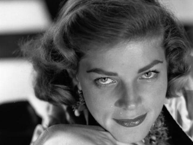 Glamour ... Lauren Bacall was the last surviving celebrity mentioned in Madonna's song Vogue.
