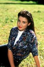<p>Dannii Minogue as she appeared as Emma Jackson (1989-1990) in Home and Away in 1990.</p>