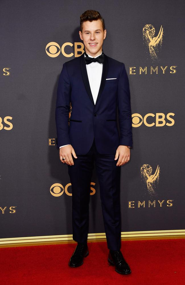 Nolan Gould attends the 69th Annual Primetime Emmy Awards at Microsoft Theater on September 17, 2017 in Los Angeles. Picture: Getty