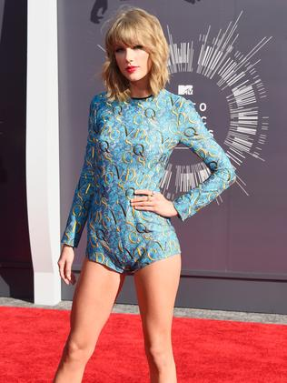 Taylor Swift attends the 2014 MTV Video Music Awards.