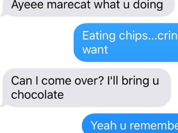 Student's super awkward text fail