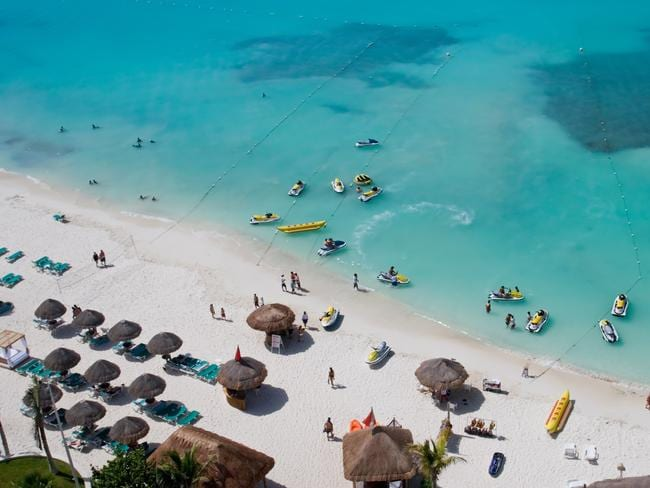 Cancun's tourism industry is in danger.