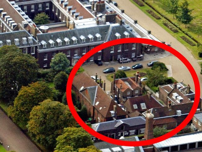 Harry and meghan engaged royal couple will live at Nottingham cottage kensington palace pictures