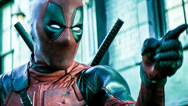 Ryan Reynolds in Deadpool 2.