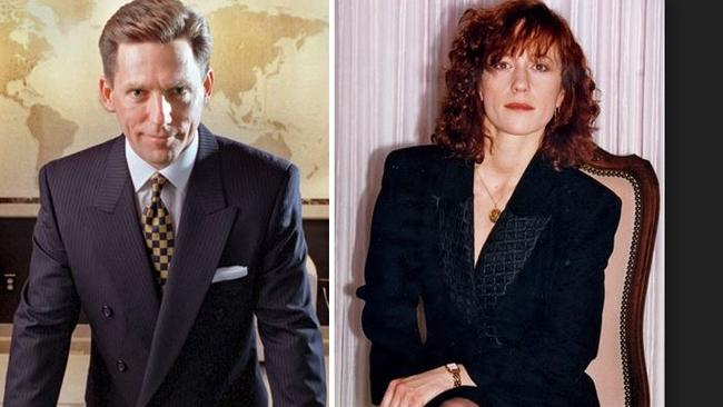 Scientology head David Miscavige, and wife, Shelly. Remini's questions about her whereabouts started alarm bells ringing, Remini says. Picture: Supplied