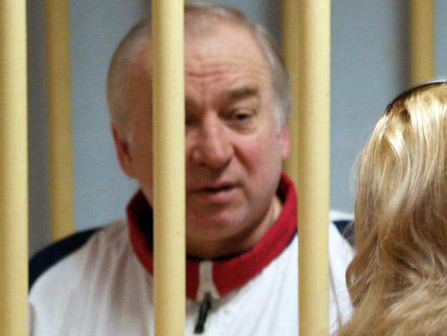 Former Russian military intelligence colonel Sergei Skripal. Picture: AFP