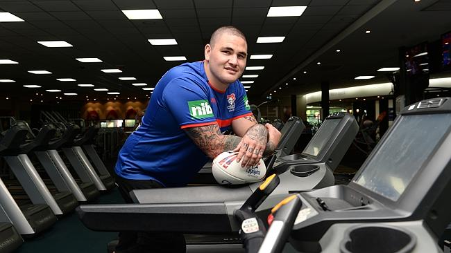 The Newcastle Knights have sacked prop Russell Packer after he was sentenced to two years jail.