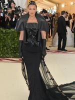 Bella Hadid attends the Heavenly Bodies: Fashion and The Catholic Imagination Costume Institute Gala at The Metropolitan Museum of Art on May 7, 2018 in New York City. Picture: Getty Images