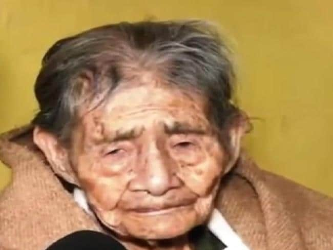 Leandra Becerra Lumbreras is 127 years old. Photo: InterestingLatestNews/ YouTube