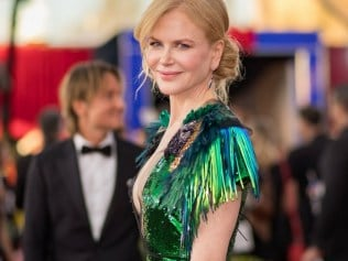 Nicole Kidman at the 2017 Screen Actor's Guild Awards. Photo: Getty