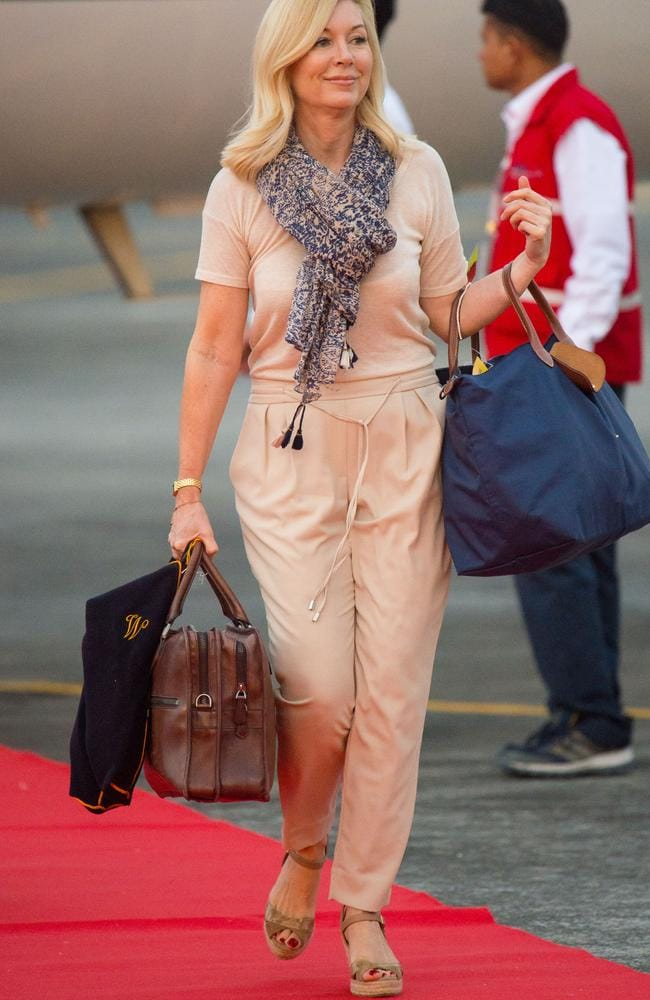 The Duchess of Cambridge's hairdresser Amanda Cook Tucker reportedly gets around $550 plus travel expenses for her services. Picture: Dominic Lipinski