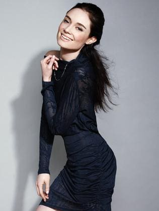 On the rise ... actor Mallory Jansen also starred in the INXS biopic.