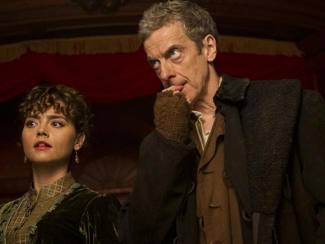Time travel ... A scene from Series 8 - Episode 1: Deep Breath, which is set in Victorian England Picture: ABC