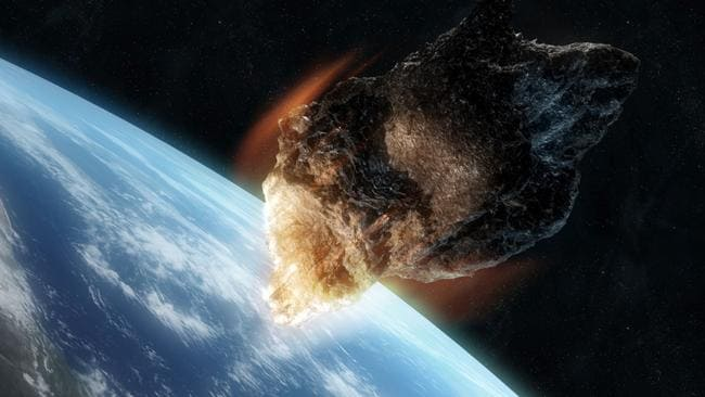 08/11/2011 NEWS: Generic asteroid artwork. Pic. Thinkstock