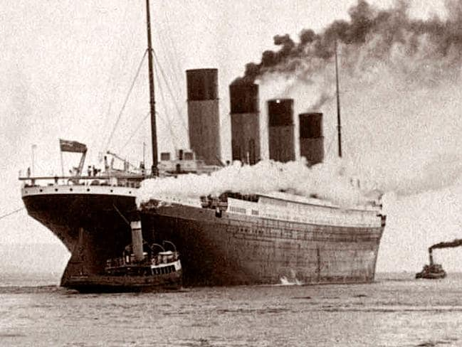 The imposing Titanic sank at 2.20am on its maiden voyage, but the Carpathia arrived in time to rescue 705 people who had escaped in lifeboats.