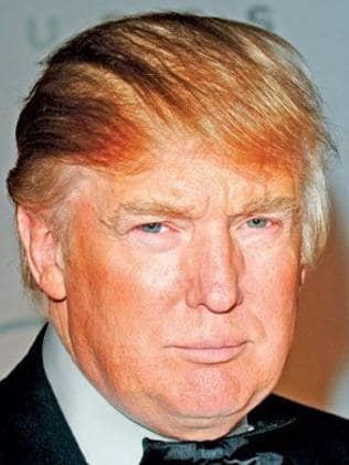 The Donald comb over has been a favourite look for the US president for many years.