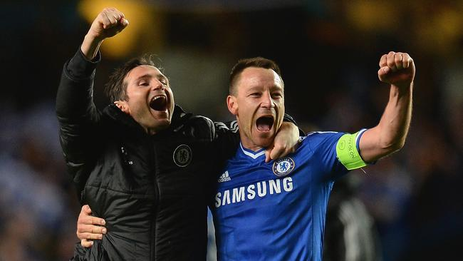Frank Lampard could line up against former teammate John Terry this season.