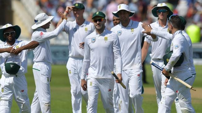 The return of captain Faf du Plessis made all the difference for South Africa.