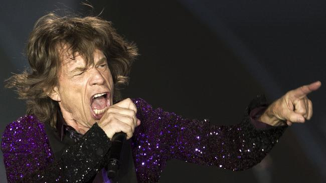 Mick Jagger. Can shift records. Can't tip for toffee.