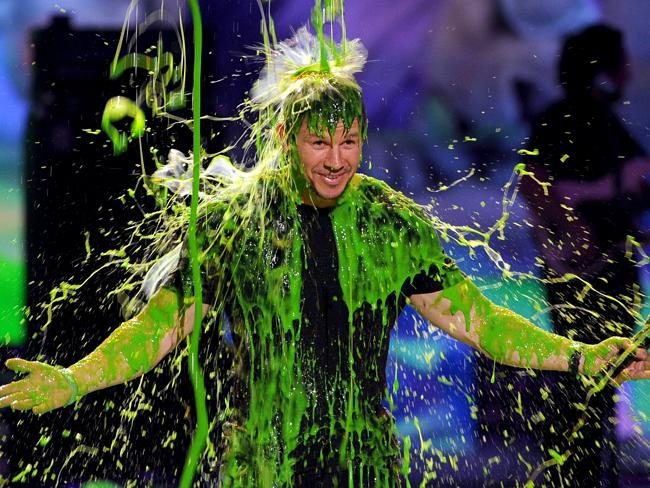 Celebs have the slime of their lives