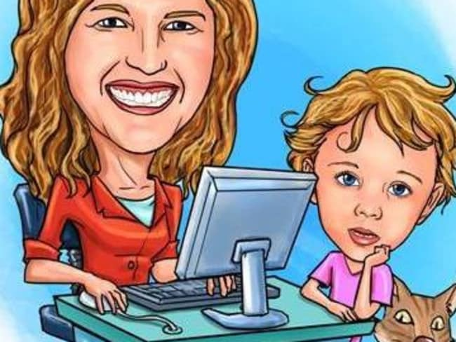 Leah's website, Work At Home Mums, is paving the way,