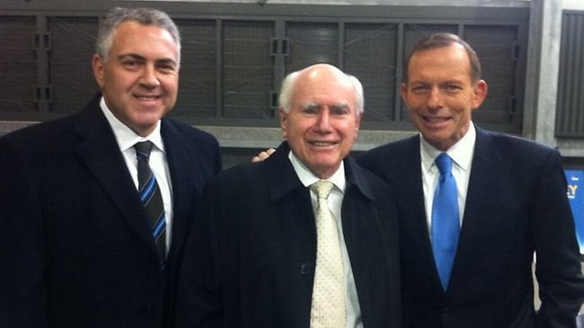 Joe Hockey Tony Abbott John Howard