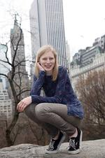 Julia Nobis - Australian model in New York, Thursday, March 15, 2012. (Photo/Stuart Ramson)