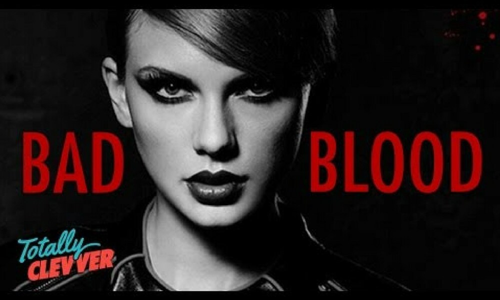 "<b>Bad Blood - Taylor Swift</b>  <p>Although Swift has never confirmed the rumours, there seems to be a general consensus among fans and the media alike that her 2014 hit single is about Katy Perry. I could be largely because Swift refers to Perry's song <i>Ghosts</i> in the line, ""If you live like that, you live with ghosts.""</p>"