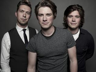US band Hanson (Isaac, Zac, Taylor) are currently touring Australia. Publicity image supplied by publicist Victoria Ciesiolka for music feature.