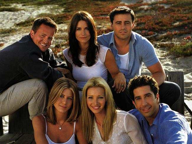 Bad news for fans ... a Friends reunion will probably never happen. Picture: Supplied