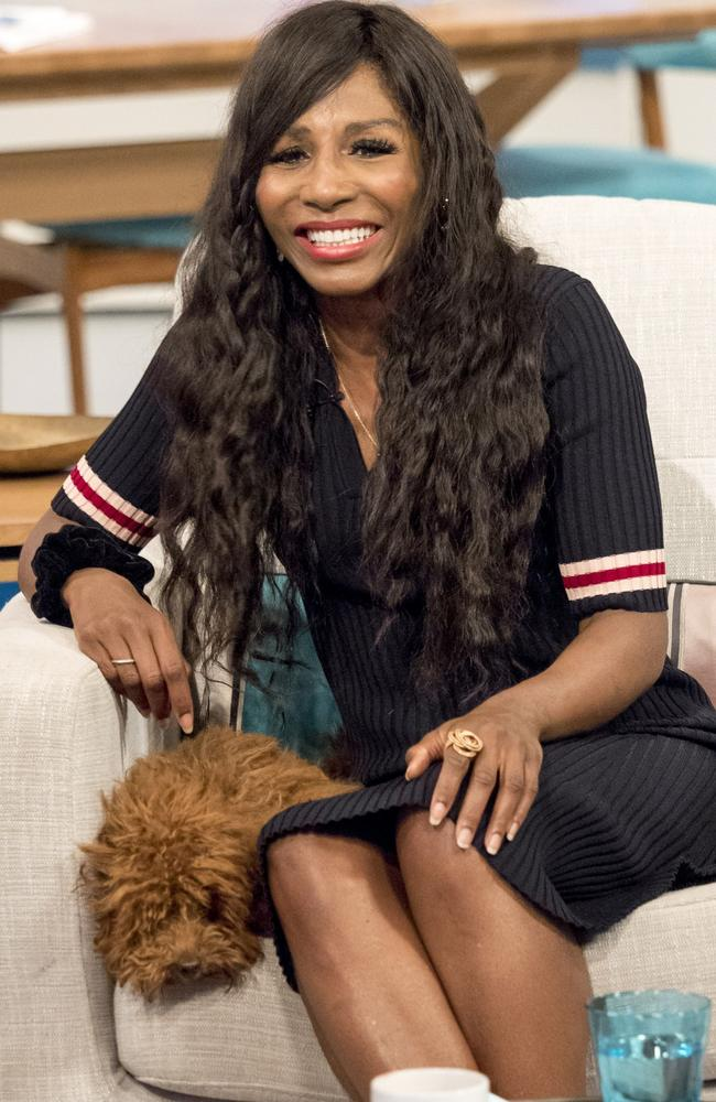 Singer Sinitta dated Brad Pitt back in the 1980s. Picture: Rex Features/Splash News