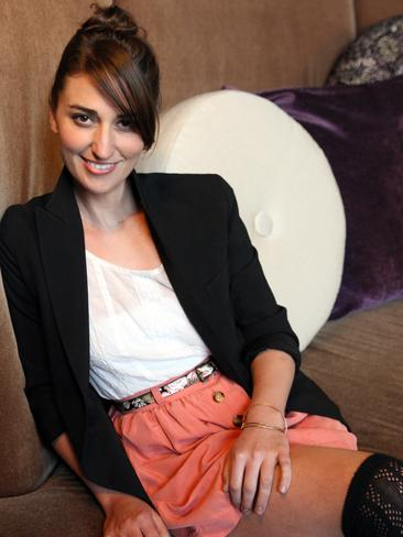 Bareilles, pictured in Sydney, was last in Australia in 2011.