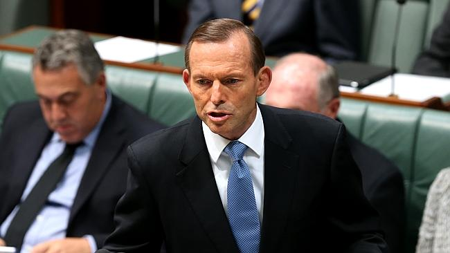 Prime Minister Tony Abbott says he is proud of Senator Sinodinos for deciding to stand aside temporarily.