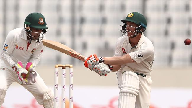 David Warner notched triple figures but his innings couldn't save Australia.