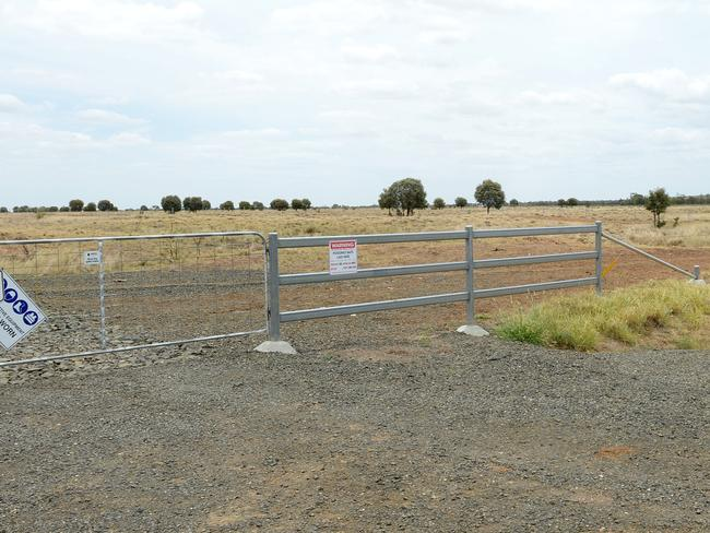 Disney Station south of Belyando Crossing is where the rail corridor for the Adani mine project is located.