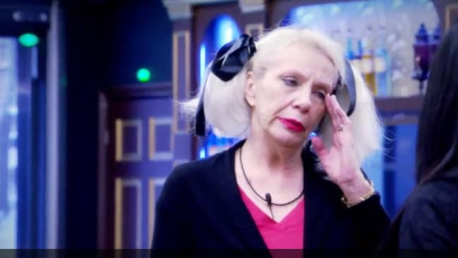 Angie Bowie shared news of her ex-husband's death with her fellow housemates — but left out one vital detail.