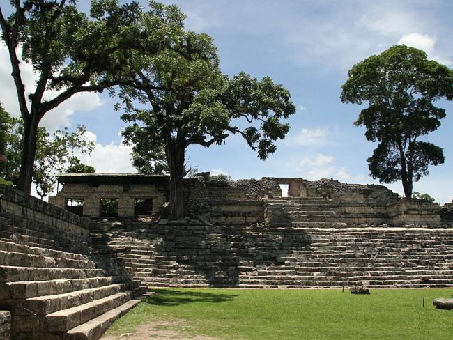 Archaeologists and geologists get to travel the world to remote locations. Pictured, Mayan Archaeological Park in Copan, Honduras.