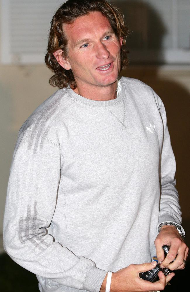A relaxed looking Hird has returned after his break in France. Picture: Norm Oorloff